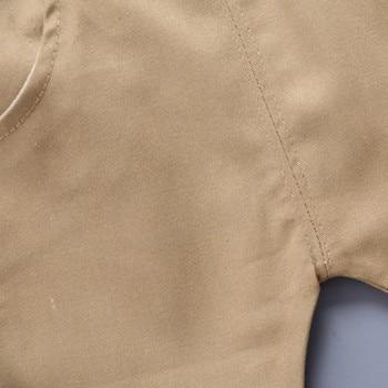 Newborn baby boys clothes set navy blue white T shirt and short 4