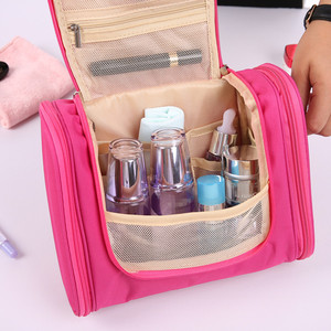 Image 3 - Foldable Travel Storage Oxford Bath Waterproof Wash Bag Home   Organizer Female Mens Multi Function Hanging Hook Package