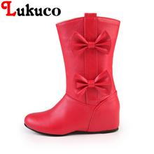2018 POPULAR lady boots round toe 37 38 39 40 41 42 43 44 45 46