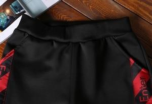 Image 5 - AmberHeard Men Sportsuit Set Spring Fashion Hooded Sweatshirt+Pants Sportswear Two Piece Set Tracksuit For Men Fitness Clothing