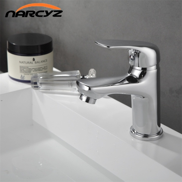 NARCYZ High quality Hot and cold water switch Bathroom basin taps ...