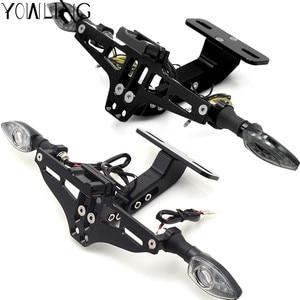 Image 3 - Soporte de matrícula de motocicleta, guardabarros limpio trasero para Honda NC700 NC750X CB500X CB500F CB190 CB190X