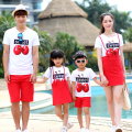 Fashion Family Clothing Parent-Child set Mother and Daughter Father and Son Clothes Family Matching Outfits Clothes LB59