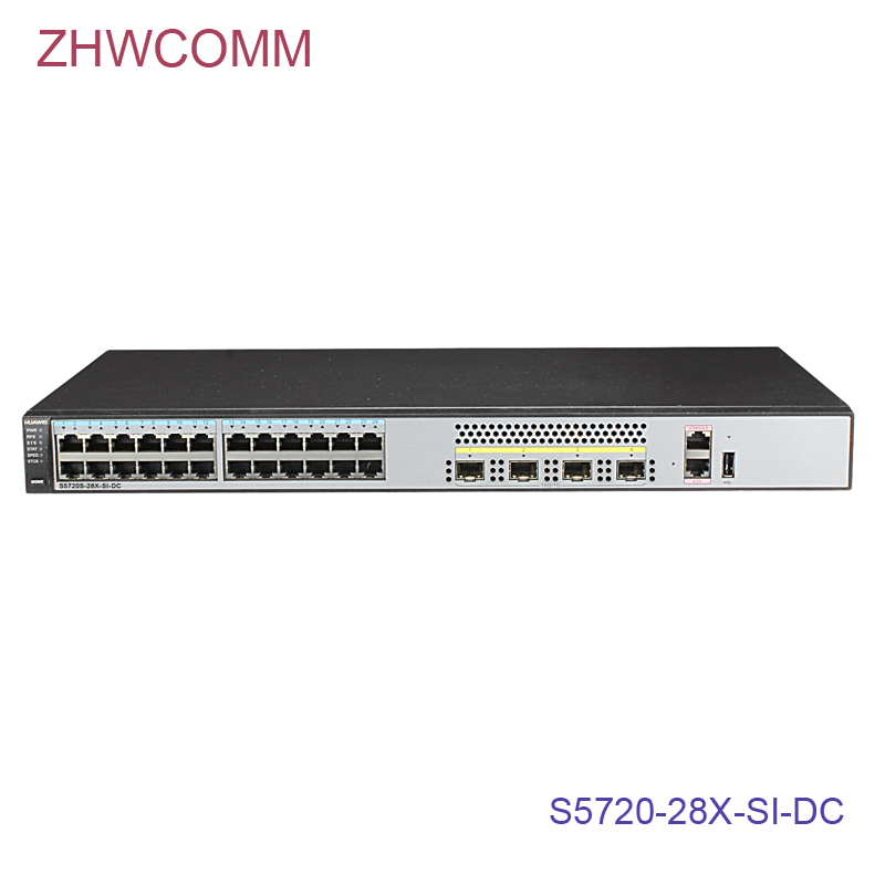 new orginal factory hua wei switch S5720-28X-SI-DC S5700 Series Switch with 24 x Ethernet 10/100/1000 portsnew orginal factory hua wei switch S5720-28X-SI-DC S5700 Series Switch with 24 x Ethernet 10/100/1000 ports