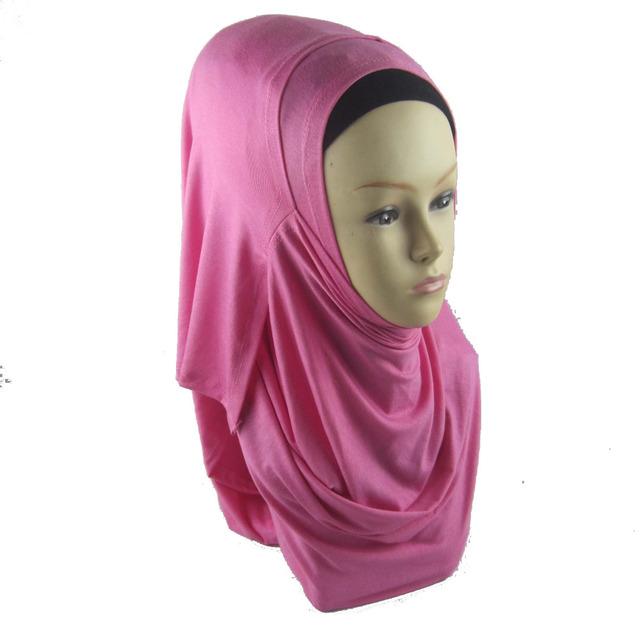 Jersey instant shawl hijab  ,amira hijabs cotton jersey scarf