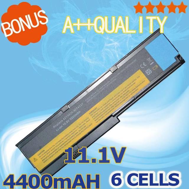 4400 мАч Аккумулятор Для Ноутбука Lenovo ThinkPad X200 X200s X201 X201i X201s 42T4834 42T4835 43R9254 ASM 42T4537 FRU 42T4536 42T4538