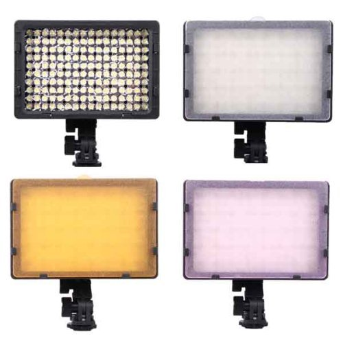 2x CN-160 <font><b>LED</b></font> Video Light for Camera DV Camcorder Lighting <font><b>5400K</b></font>