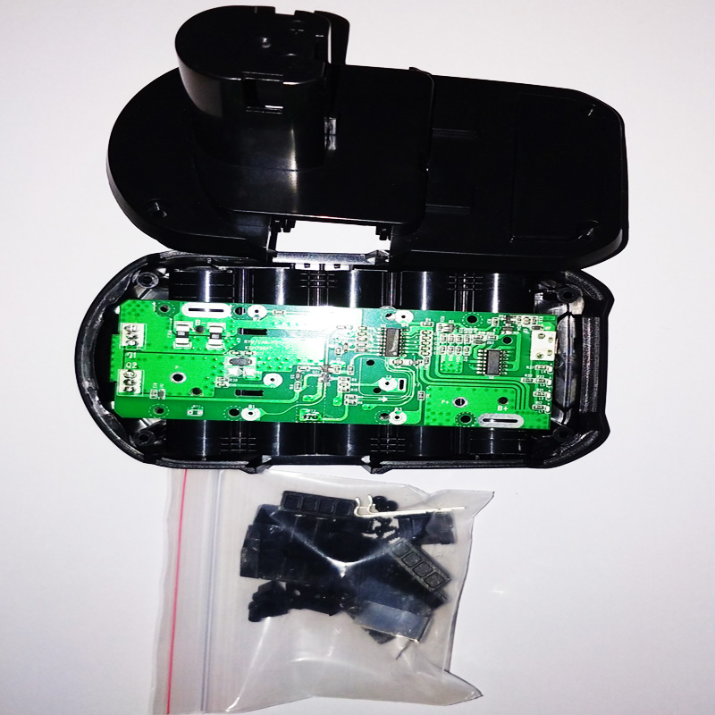New 18V PCB Circuit Board With Lithium Ion Power Tool Battery Case Replacement for Ryobi 18V