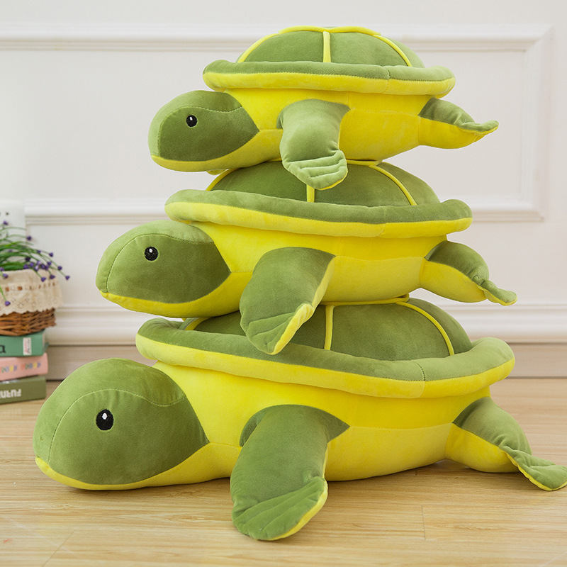 2017 New Cute Tortoise Plush Toys Soft Stuffed Turtle Doll Plush Pillow Staffed Children Toys Best Gift For Kids C61 25cm 32cm 50cm minion plush toys movie despicable me 2 soft minion stuffed toys plush doll jorge dave eye bonecos minions gift