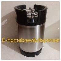 2.5 gallon Cornelius Ball Lock for homebrew,Pepsi keg with lids and valves.