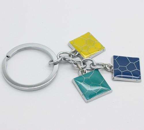 Free Shipping 2013 Novelty Items Key Chain Cute Christmas Gift for Women Wholesale Fashion Key Ring KZ0010