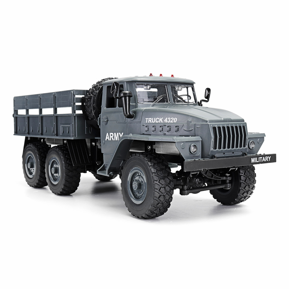 Remote Control Toys Smart Rb 1:16 Ural 6x6 Radio Controlled Cars Off Road Rc Car Parts 6wd Simulation Rc Crawler Military Truck Body Assemble Kids Toys A Wide Selection Of Colours And Designs