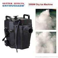 3500w stage dry ice smoke fog machine for dj stage club