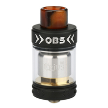 Original OBS Crius 2 RTA Tank Atomizer 3.5ml Tank Capacity with New Design Deck for Easy & Quick Single Coil Building Vape Tank