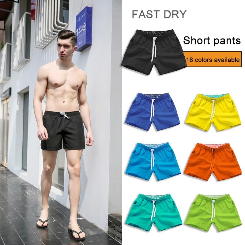Men Summer Trunks Swimming   Shorts   Quick-drying Surf   Board   Boxer 2019 Beach   Shorts   Swimwear Beach Trousers Bathing Briefs