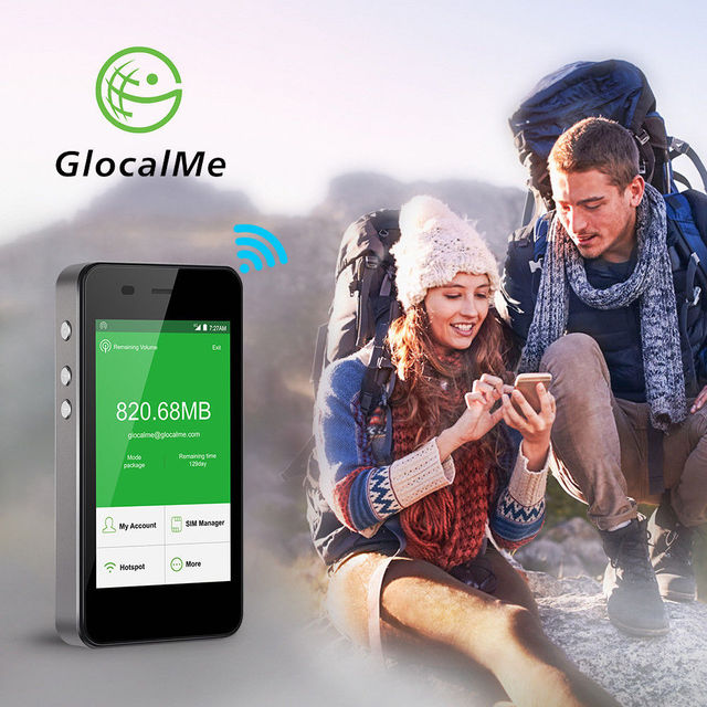 Glocalme 4G Mobile Wifi Hotspot – Worldwide Mifi Router with Powerbank – New 2018