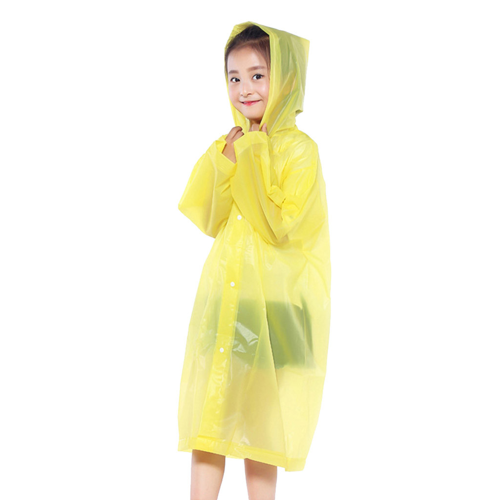 Raincoats Reasonable 2019 Raincoat Conjoined Transparent Eva Electric Bicycle Poncho Single Non-disposable For Girls And Boys Rainwear Attractive Designs;