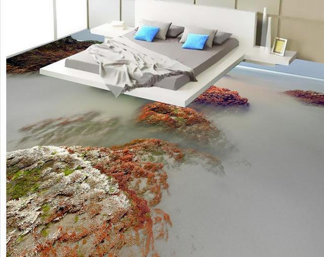 Sweet Home 3d Fußboden Texture ~ D boden malerei tapete strand landschaft d boden pvc