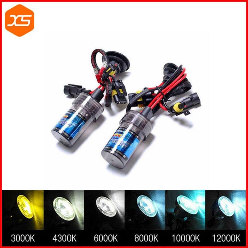 Coppia lampade bulbi kit XENO xenon H7 35w 5000k 12v lampadina luce HID ricambio fari