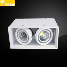 Высокое качество поверхностного монтажа 4 azimuth Регулировка светодиодный COB светильники 85-265 в 14 Вт 20 Вт 30 Вт Светодиодный точечный потолочный светильник