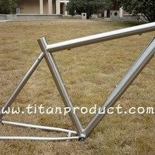 Стиль с отсеками! Титановая велосипедная Рама, велосипедная Рама(с брызговиком и креплением на стойку
