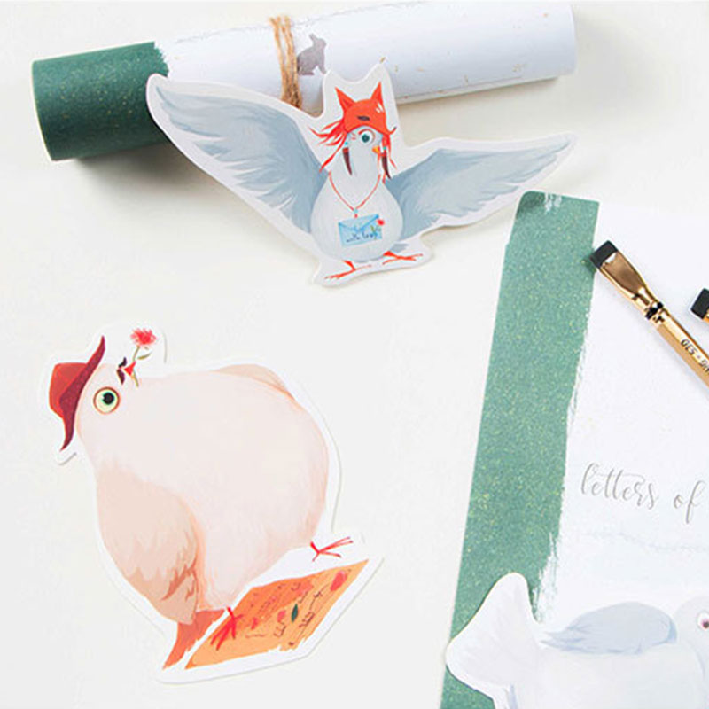 30 pcslot noveltycute letter pigeon heteromorphism postcard animal 30 pcslot noveltycute letter pigeon heteromorphism postcard animal greeting card christmasbirthday card message gift cards in cards invitations from bookmarktalkfo Images