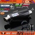 LEOVINCE-SBK GP CORSA SLIP-ON Мотоциклов Выхлопных Углеродного Волокна Труба Глушителя CBR600 1000 CBR250 CB400 CB600 ER6N ER6R YZF600 Z750