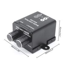 Amplifier Bass Regulator Subwoofer Car-Accessories Equalizer-Controller Vehicle Stereo