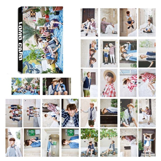 Kpop bts 2017 summer package album lomo cards k pop new fashion self kpop bts 2017 summer package album lomo cards k pop new fashion self made paper thecheapjerseys Image collections