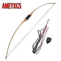68 inch Traditional Longbow Recurve Bow Take Down 35 60lbs Outdoor Hunting Shooting Longbow American Hunting Archery Accessroy