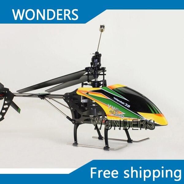 Haute qualité WLtoys V912 grand 52 cm 2.4 Ghz 4Ch télécommande simple lame hélicoptère RC gyroscope RTF livraison gratuite