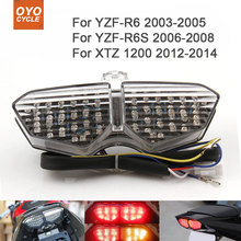 Motorcycle Integrated LED Tail Light Brake Turn Signal Blinker For Yamaha YZF R6 R6S XTZ 1200 YZF-R6 YZF-R6S