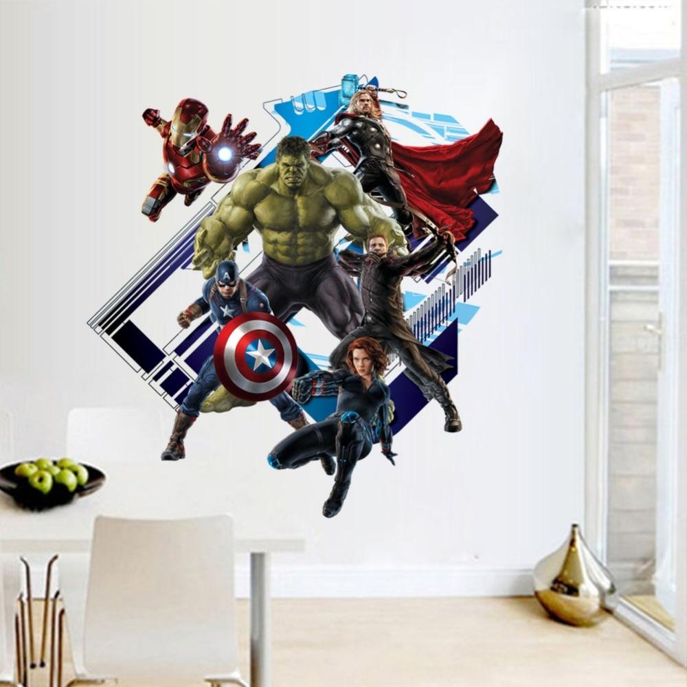 Marvel Wallpaper For Bedroom Online Get Cheap Marvel Bedroom Decor Aliexpresscom Alibaba Group