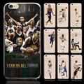 Casos de teléfono de pc fundas para iphone 5 5s 5c 6 6 S 6 Plus MVP NBA Stephen Curry Golden State Guerrero 2016 subcampeón
