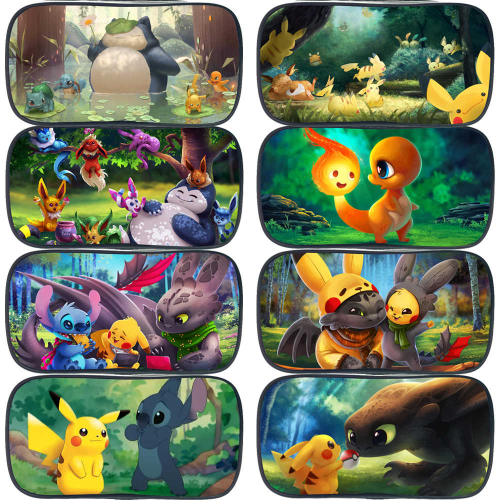 Pokemon Pikachu Snorlax Charmander