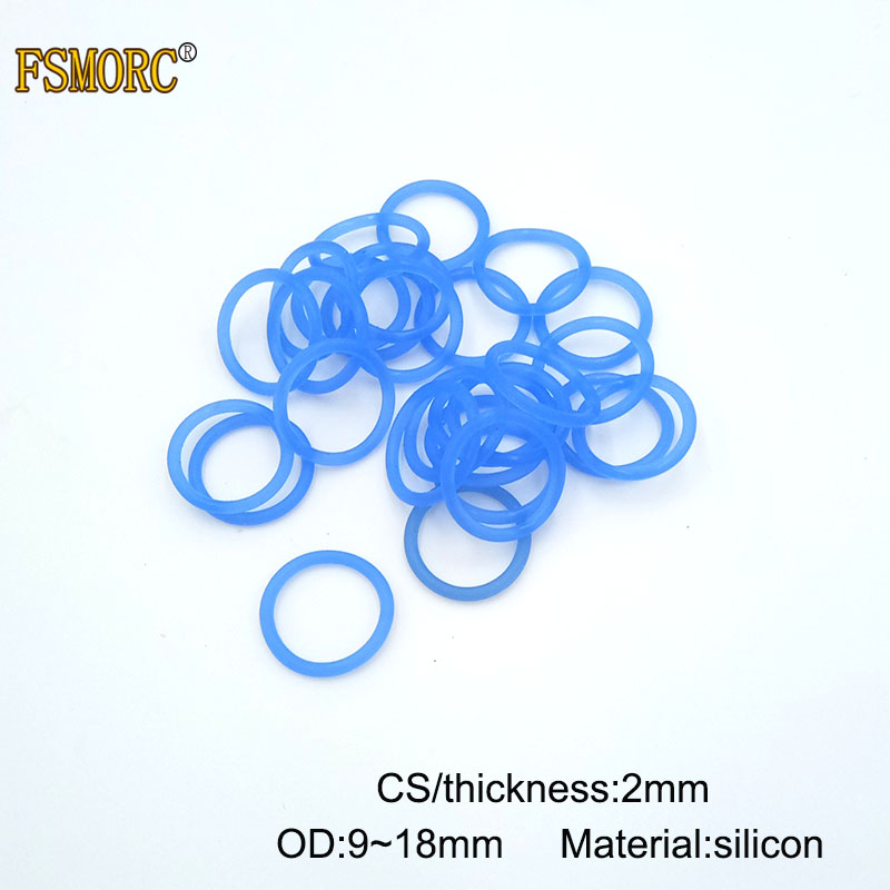 O-Rings Viton FKM Rubber 75A Metric Seals Packets 9mm Inner Diameter ID