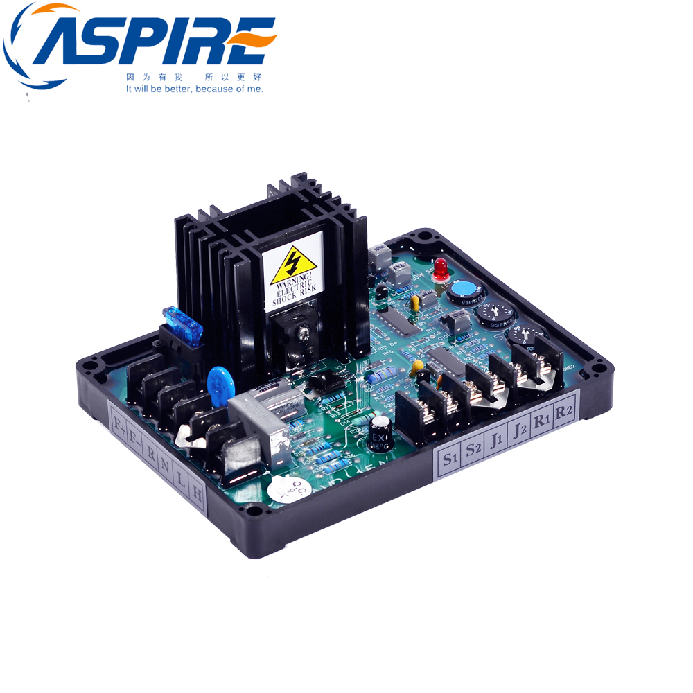 Free Shipping Universal Brushless Generator Avr GAVR-15A Voltage Stabilizer Regulator gavr 15a universal brushless generator avr 15a voltage stabilizer automatic voltage regulator blue capacitance