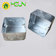 86 type Connection Box 86h50 Iron Box Metal Stretching Box Steel Connection Box Switch Undercover Box