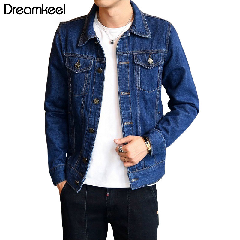 Prowow 2018 Jeans Jacket Men's Jackets And Coats Fine Spring Cowboy Outwear
