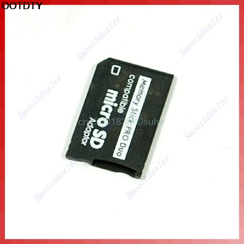 Micro SD SDHC TF To Memory Stick MS Pro Duo PSP Adapter Converter Card New