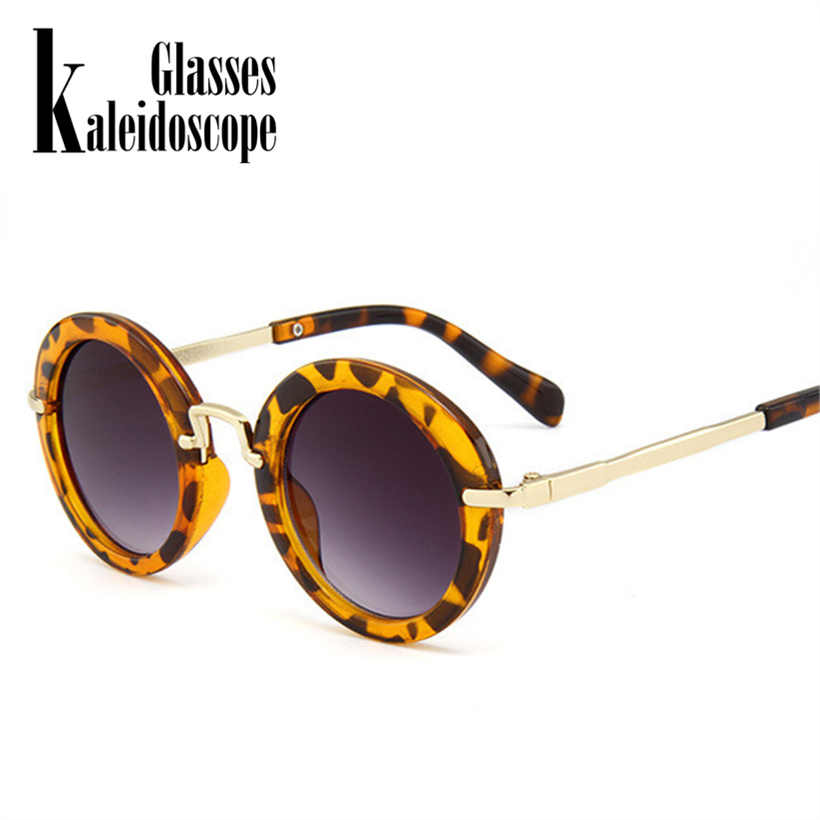 b5abf79ac18d ... Kaleidoscope Glasses Kids Sunglasses Boys Brand Children Round Sun  Glasses For Girls Baby Goggles UV400 Eyewear ...