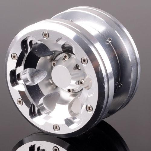 "2.2 ""2023 aluminium 6 trous Beadlock roue Rim4pcs pour Axial Yeti Wraith"