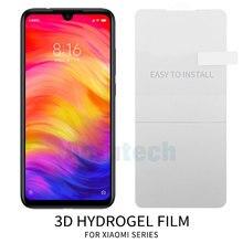 3D Full Cover Soft Screen Protector For Xiaomi Mi 9 Redmi Note 7 Pro TPU Hydrogel Film (Not Tempered Glass)