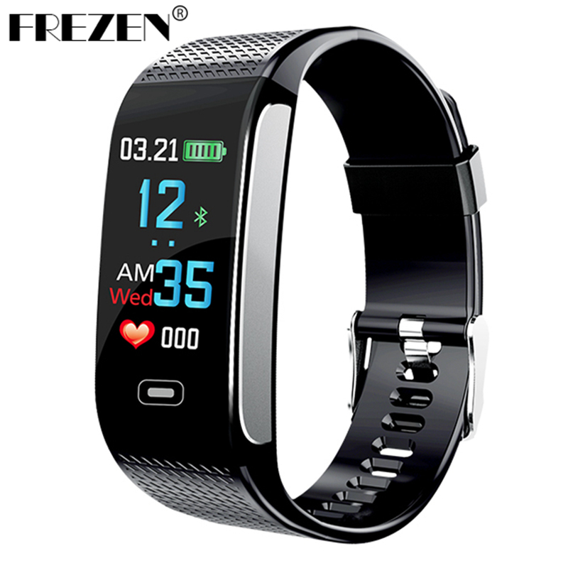 CK18S Smart Band Blood Pressure Heart Rate Monitor IP67 Wrist Watch Fitness Bracelet Tracker Pedometer Wristbands PK CK11S