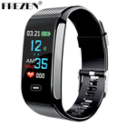 FREZEN CK18S Smart Band Blood Pressure Heart Rate Wrist Watch Fitness Bracelet Tracker Pedometer Wristband Android& IOS PK CK11S