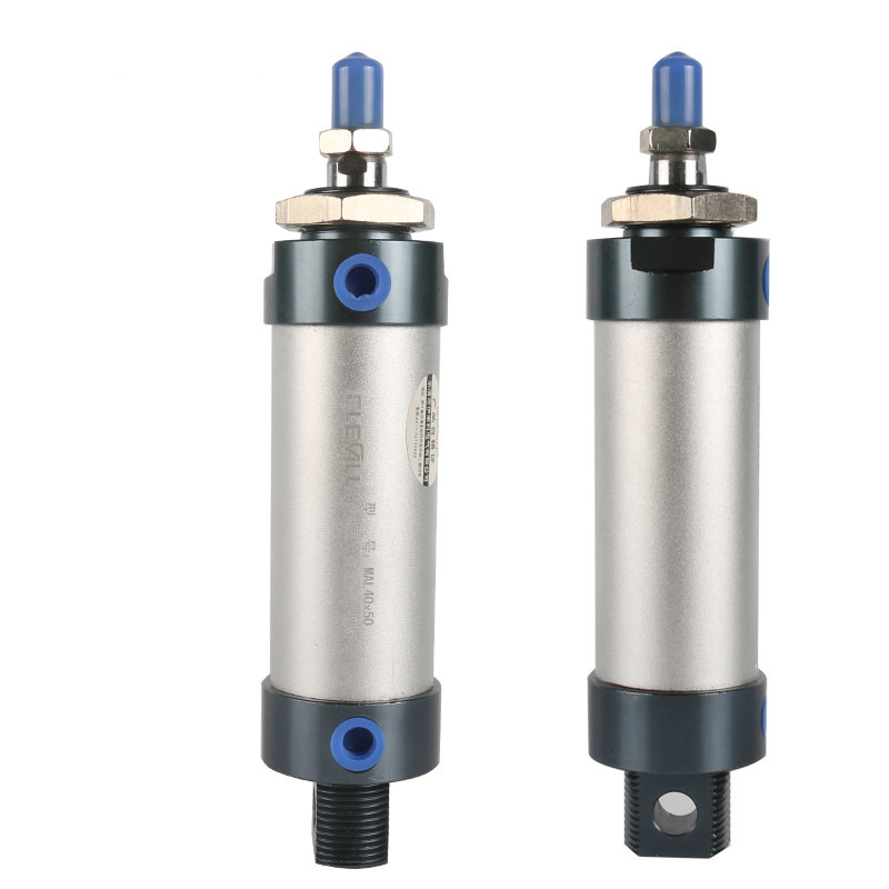 MAL40*75 / 40mm Bore 75mm Stroke Compact Double Acting Pneumatic Air Cylinder 16mm bore 40mm stroke tn16 40 compact double acting pneumatic air cylinder
