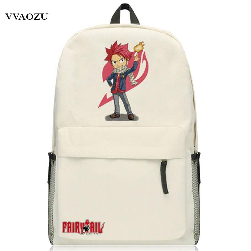 2656b91b0703a Yeni Varış Peri Kuyruk Gençler için Sırt Çantası Oxford Japonya Anime Okul  Çantaları Schoolbag Omuzlar Çanta Ücretsiz Kargo