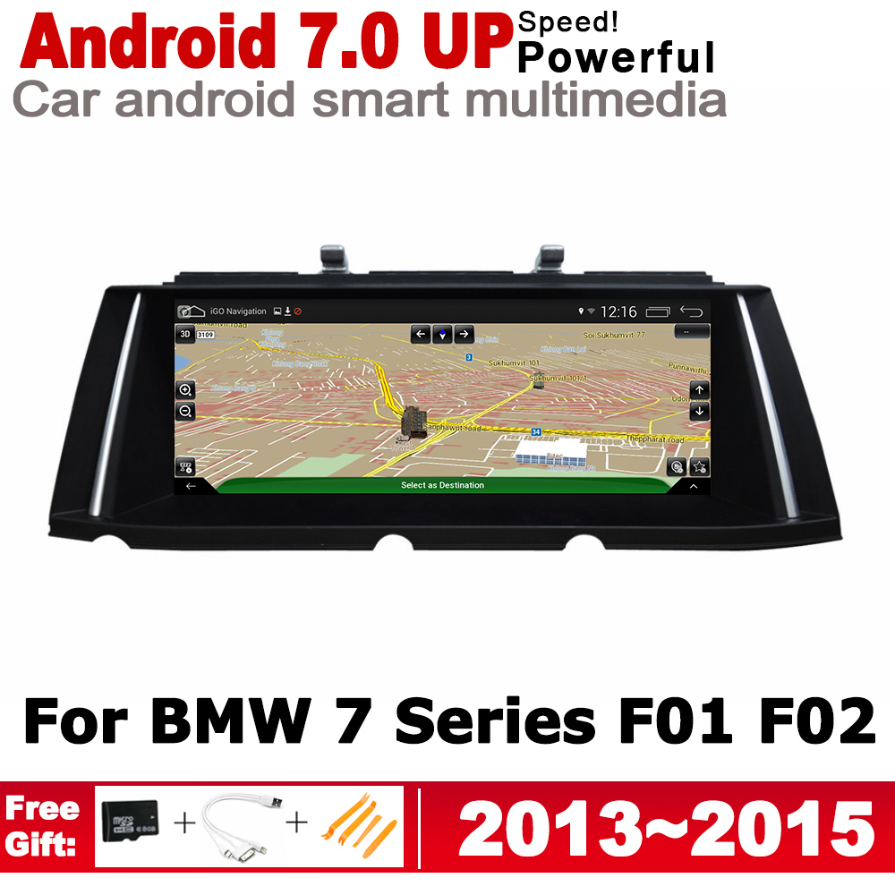 10 25 quot HD Screen Stereo Android 7 0 up Car GPS Navi Map For BMW 7 Series F01 F02 2013 2015 NBT Original Style Multimedia Player in Car Multimedia Player from Automobiles amp Motorcycles