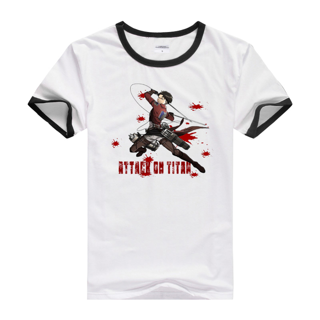 """Levi Ackerman"" Attack On Titan T-Shirt (17 Design)"