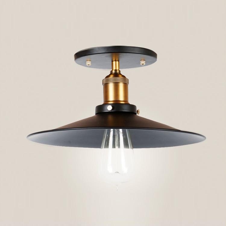 Retro Aisle Lamps Porch Light Fixture Edison Light Metal Aisle Lamp Loft  Lights Lamparas De Techo